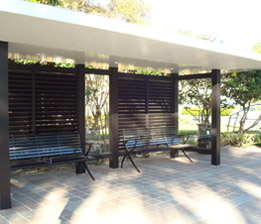 Steel Fabricated Bus Shelter 3