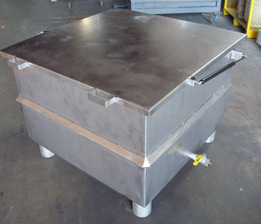 Stainless Steel Tank  Closed